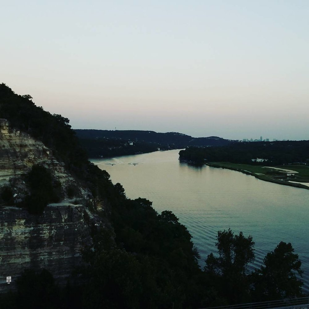 Shot on Pennybacker Bridge