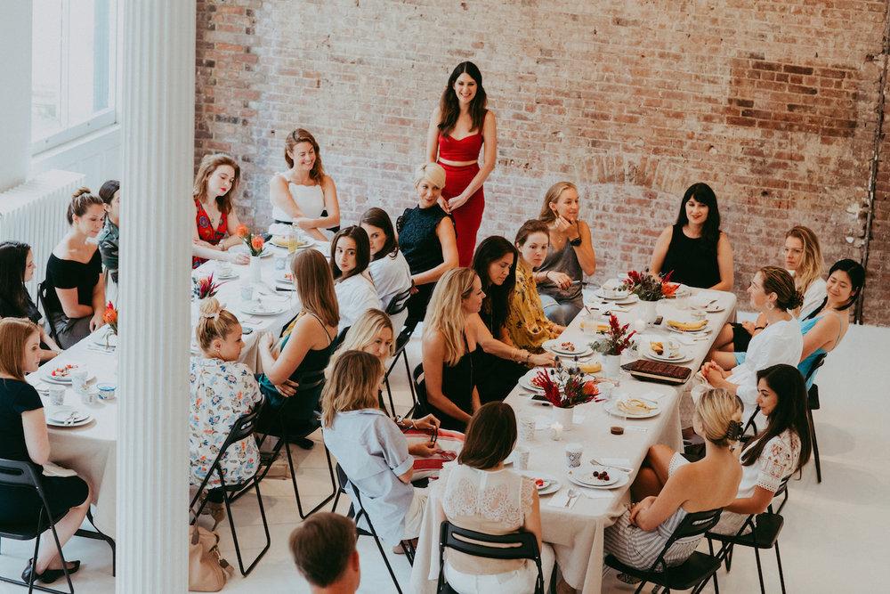 50 deviled eggs for Dream Ventures & female founders