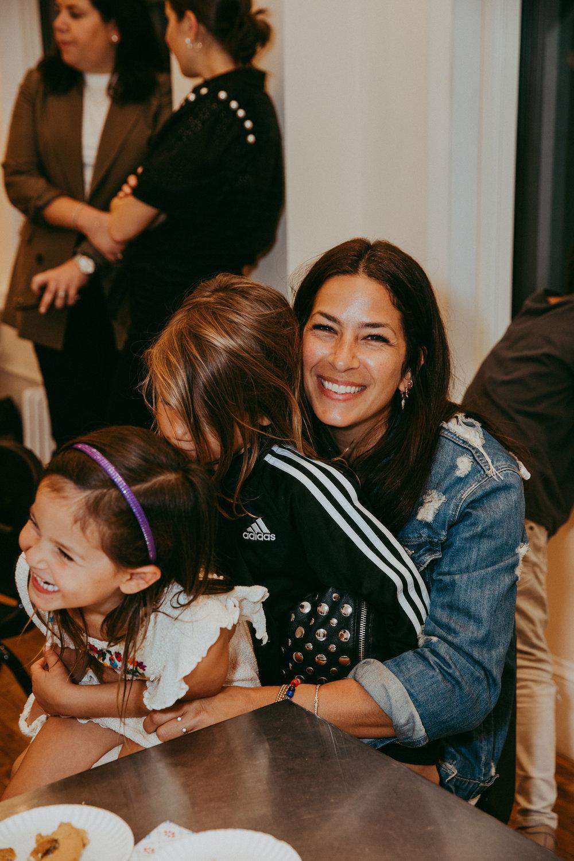 Rebecca Minkoff with her dreamy children!