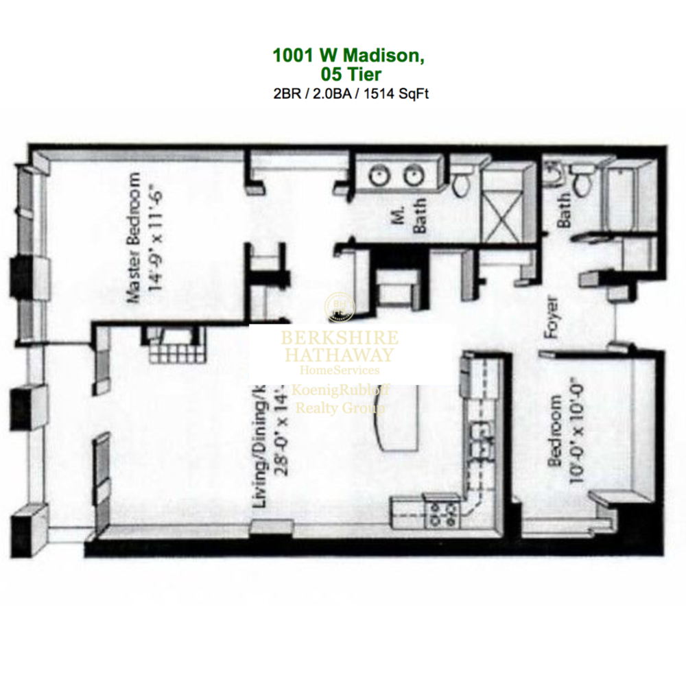 1001 W. Madison St.