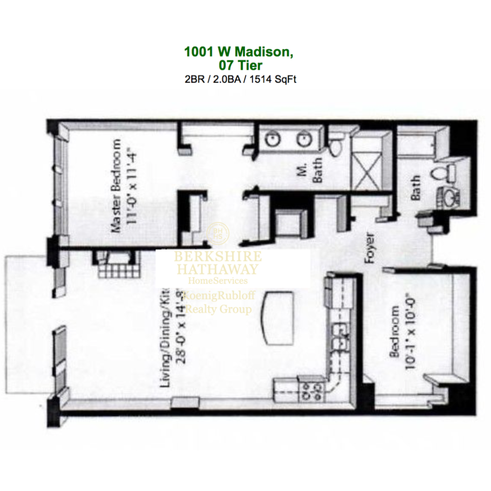 1001 W Madison St.