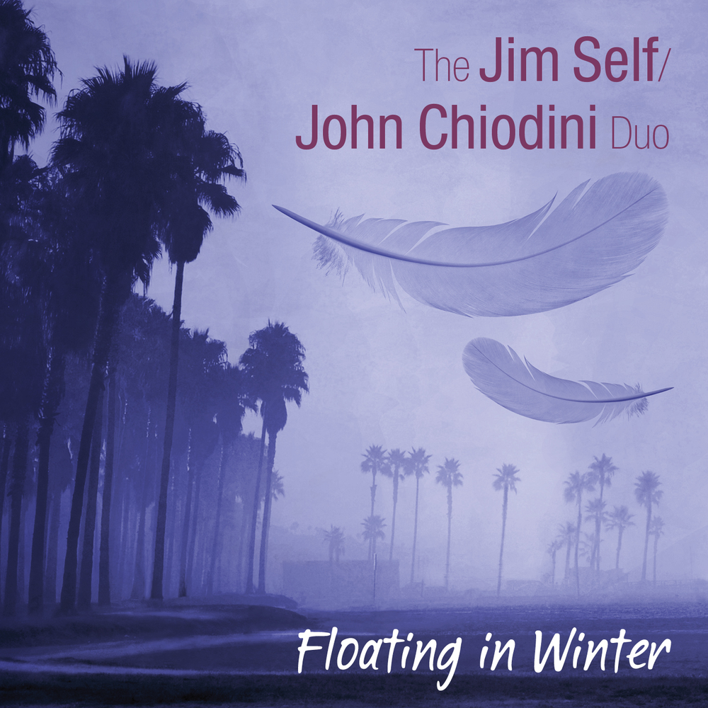 Floating in Winter - Jim Self, Tuba/Fluba         John Chiodini, GuitarsThis recording was inspired by the musical connection between John Chiodini and myself.  We met playing in David Angel's 13 piece jazz band, I loved John's playing and he was complimentary about mine.  A tuba and guitar duo may seem odd but it turned out to be a beautiful sound, so we decided to make this recording. John and I have a wide palate of musical interests and these songs reflect our love of great melodies and interesting chord changes. The pairing of guitar and tuba frees up the low part of my instrument and the natural blend of the two instruments creates a warm and rich sound.   - Jim Self