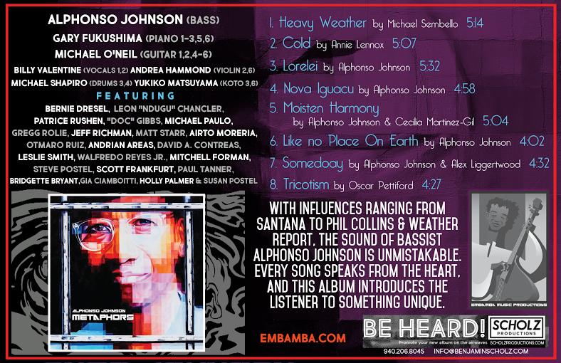 Alphonso Johnson - Metaphors One Sheet.png