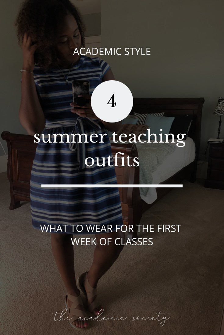 what to wear for the first week of class, teaching outfits, professor style