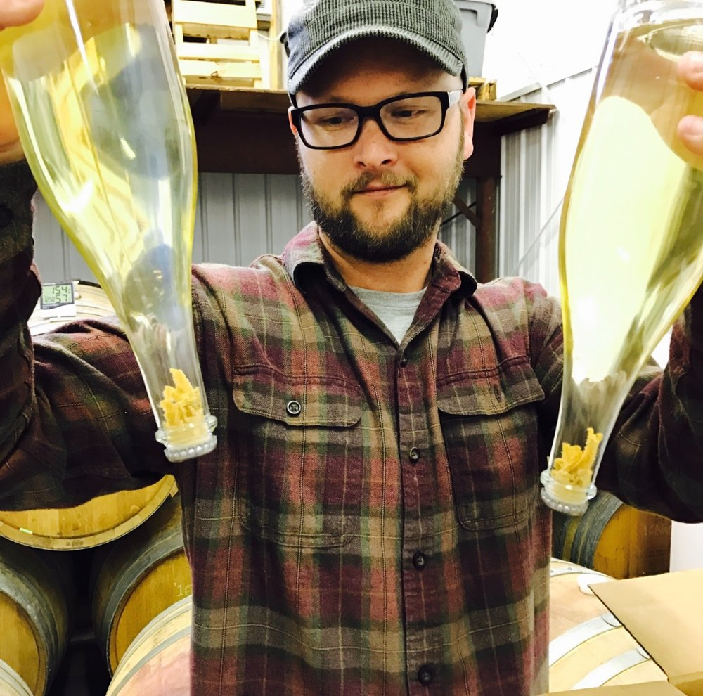 Nathan Kendall - Pushing the limits of world-class winemaking in the FLX. August 2017