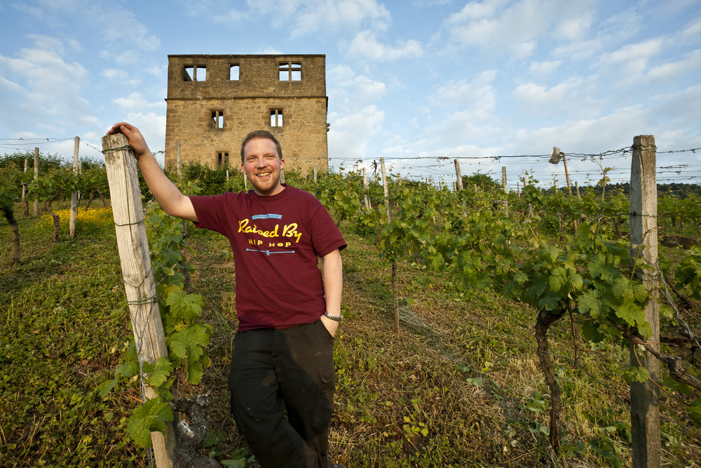 Moritz Haidle - A close look at one of the freshest talents in German winemaking today. March 2018
