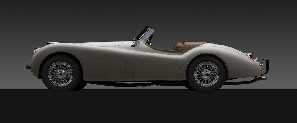 - 1952 Jaguar XK 120