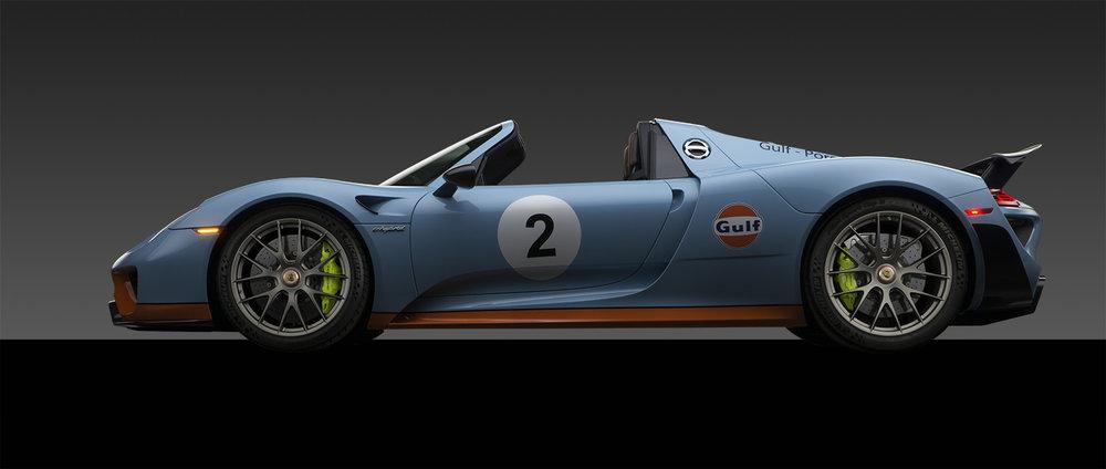 - Porsche 918 Spyder