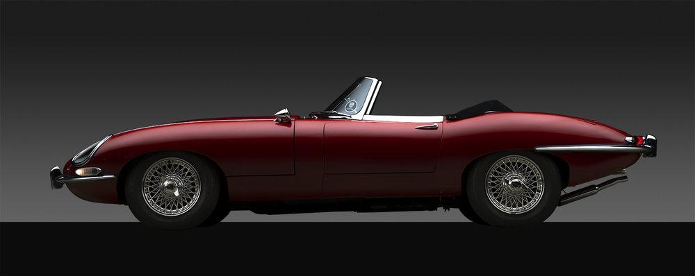 - 1963 E-Type Jaguar Series One