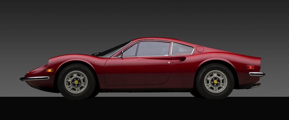 - 1972 Ferrari Dino 246GT coupe