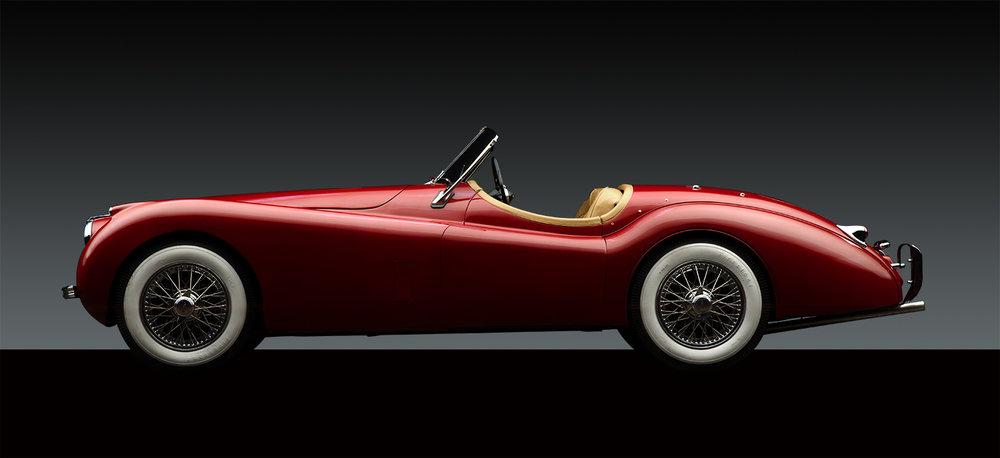 - 1953 Jaguar XK 120