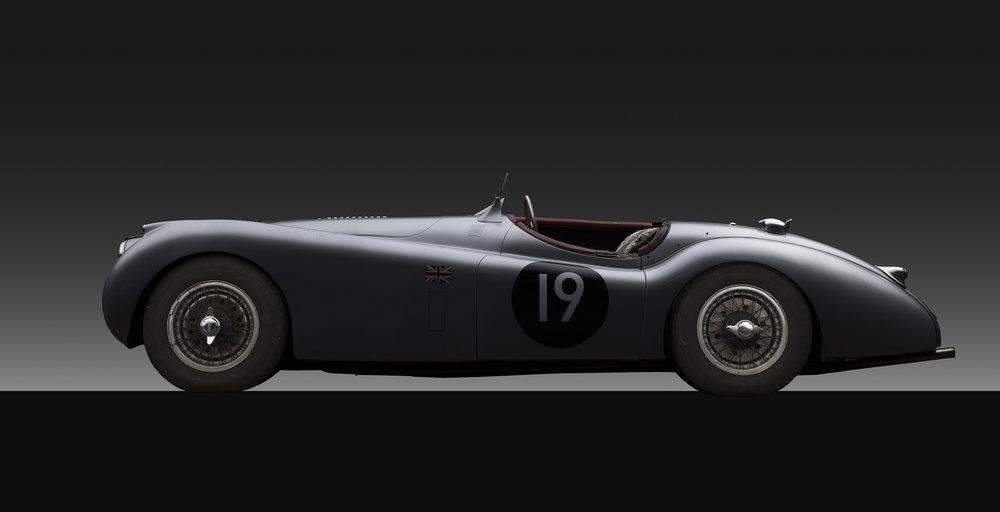 - 1954 Jaguar XK 120 M
