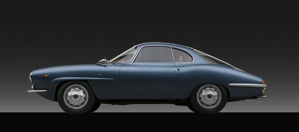 1966 Alfa Romeo Giulia Sprint Speciale Profile
