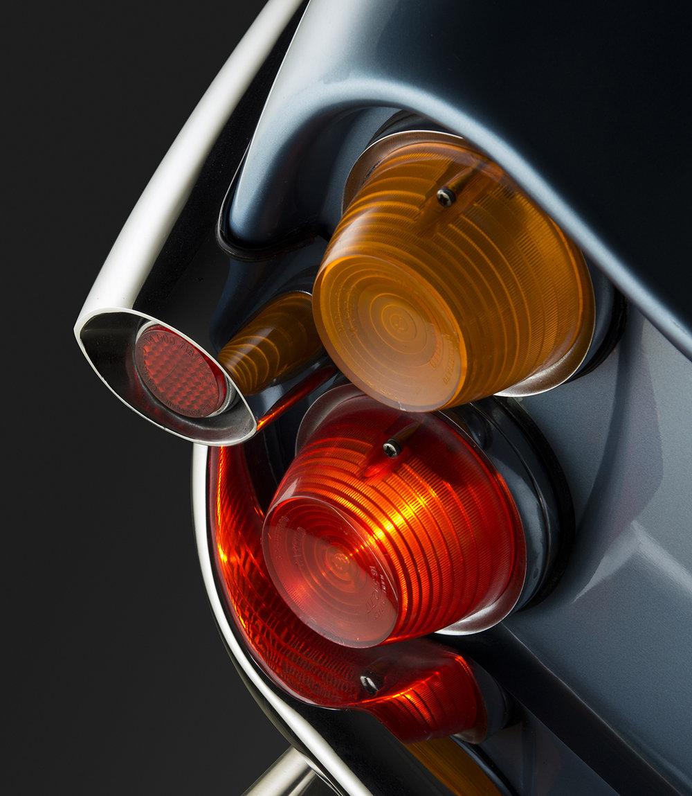 1966 Alfa Romeo Giulia Sprint Speciale Light Cluster Detail