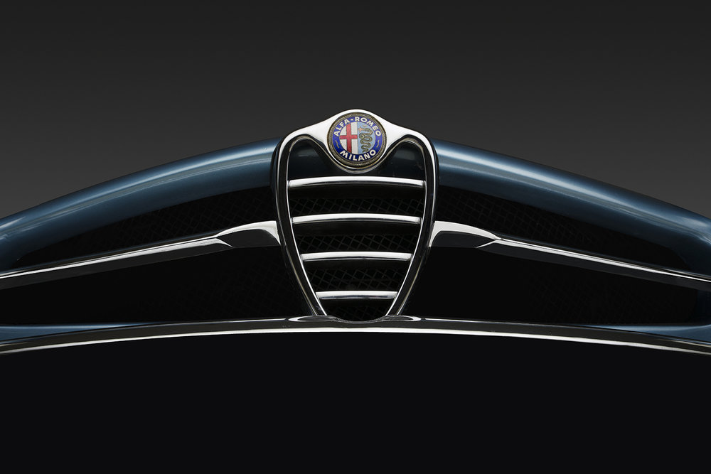 1966 Alfa Romeo Giulia Sprint Speciale Front Detail