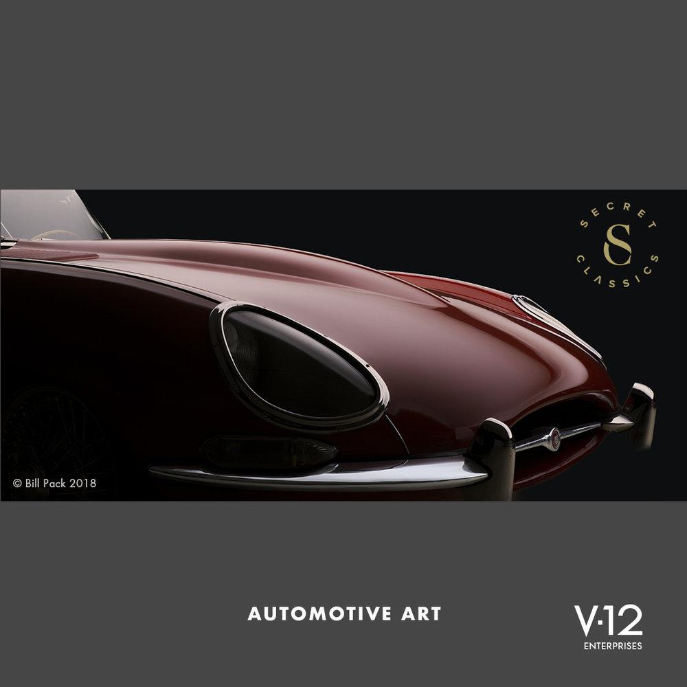 Automotive Art 2 - Jaguar E-Type