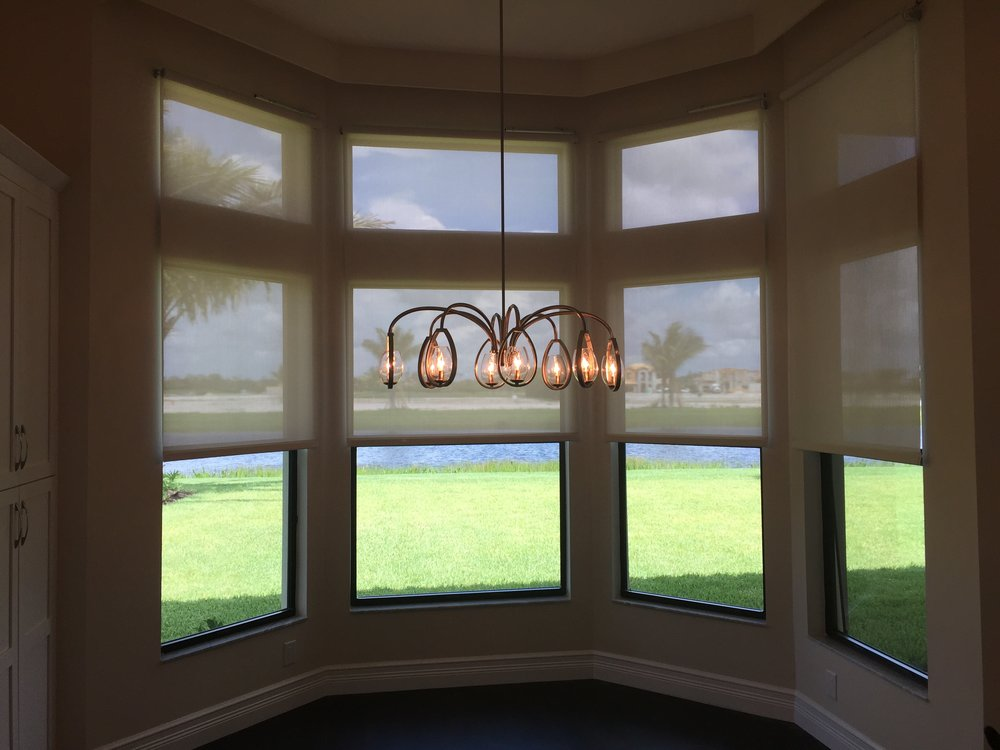 Lutron QS 5% Roller Screen Shades