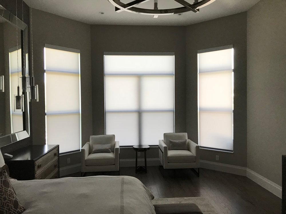 Lutron QS Translucent Roller Screen Shades