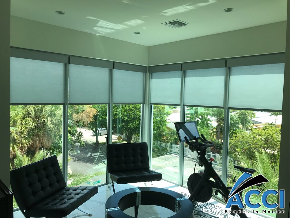 Lutron 1% Triathlon Battery Operated Roller Screen Shades