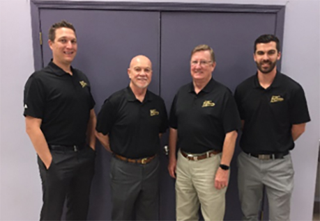 Leading LAFCAA's management team are (left to right): Jacob Warren, General Sales and Marketing Manager; John Poteet, Managing Partner; Don Sistrunk, Advisor to the Executive Team,  and Matt Allombro, Auction Manager.