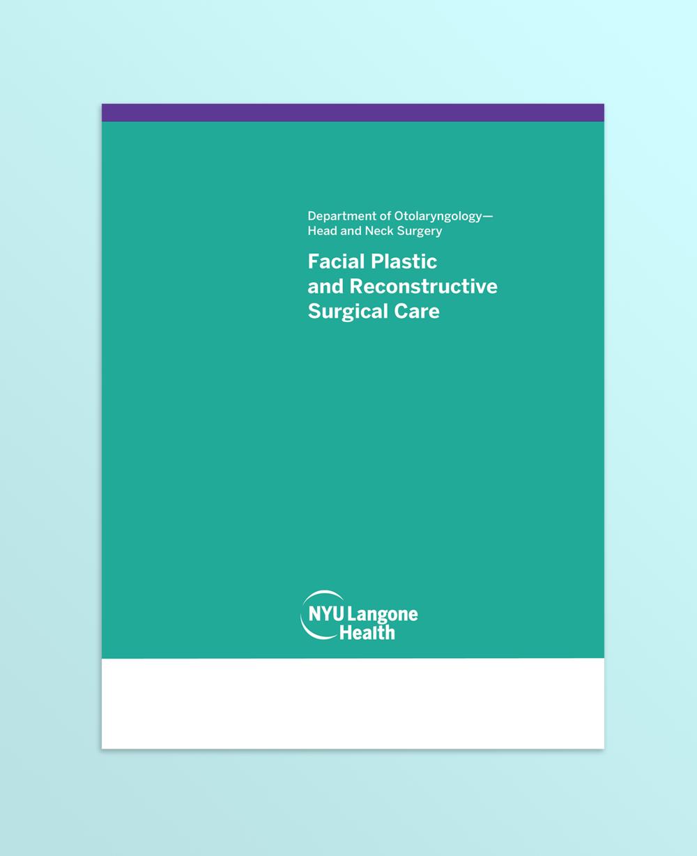 Otolaryngology Brochure Cover