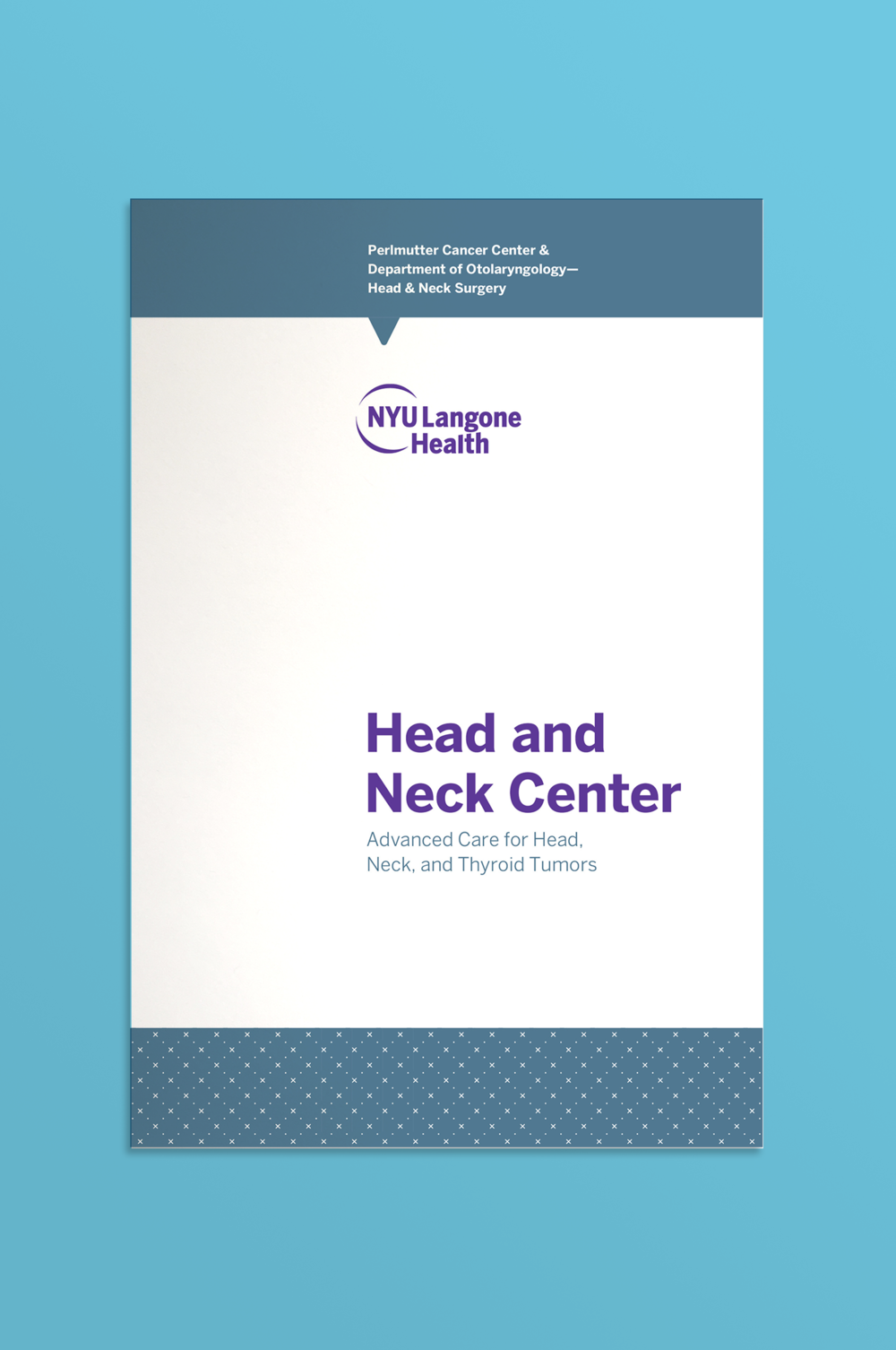 Head and Neck Brochure Cover