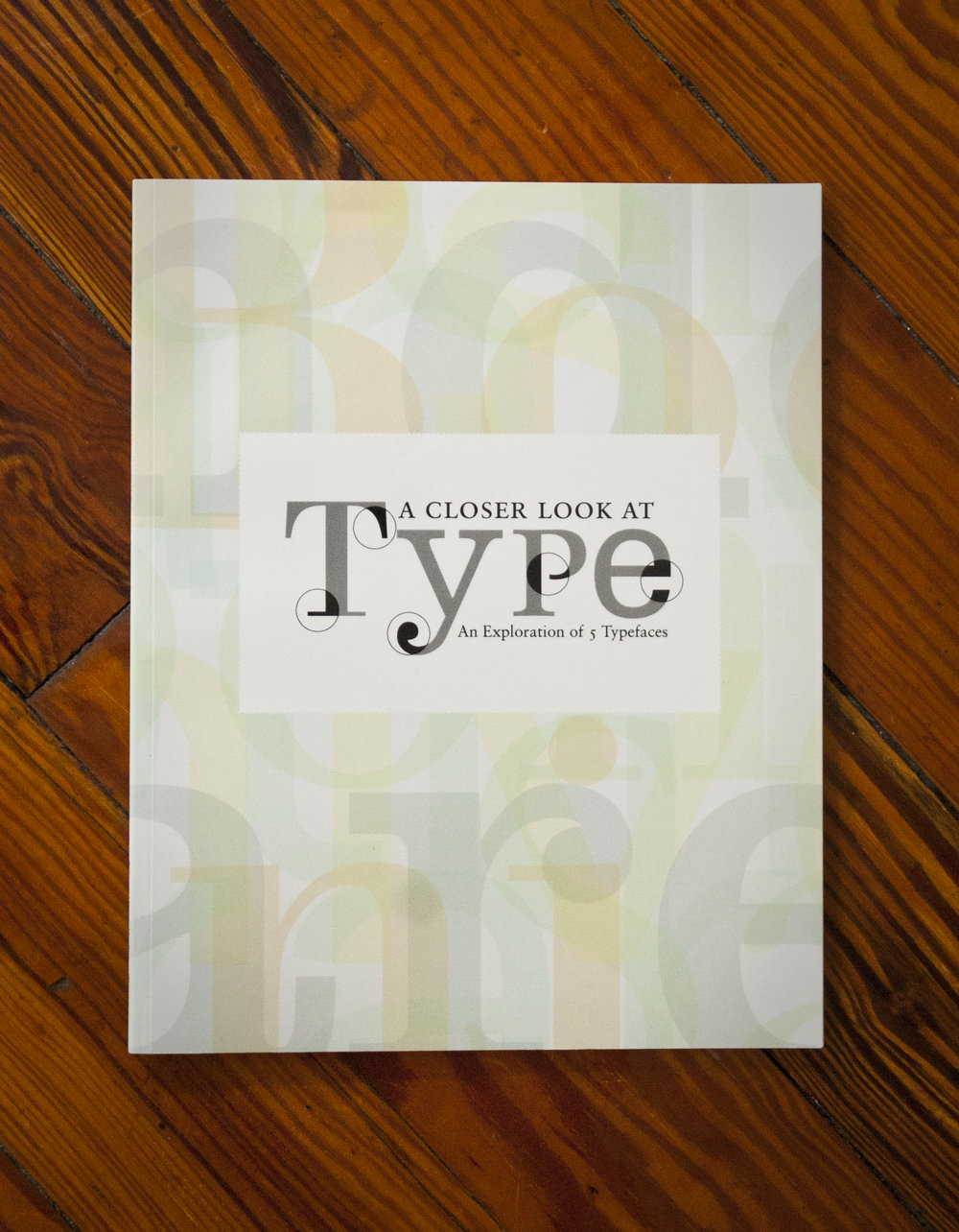 A Closer Look at Type  Book