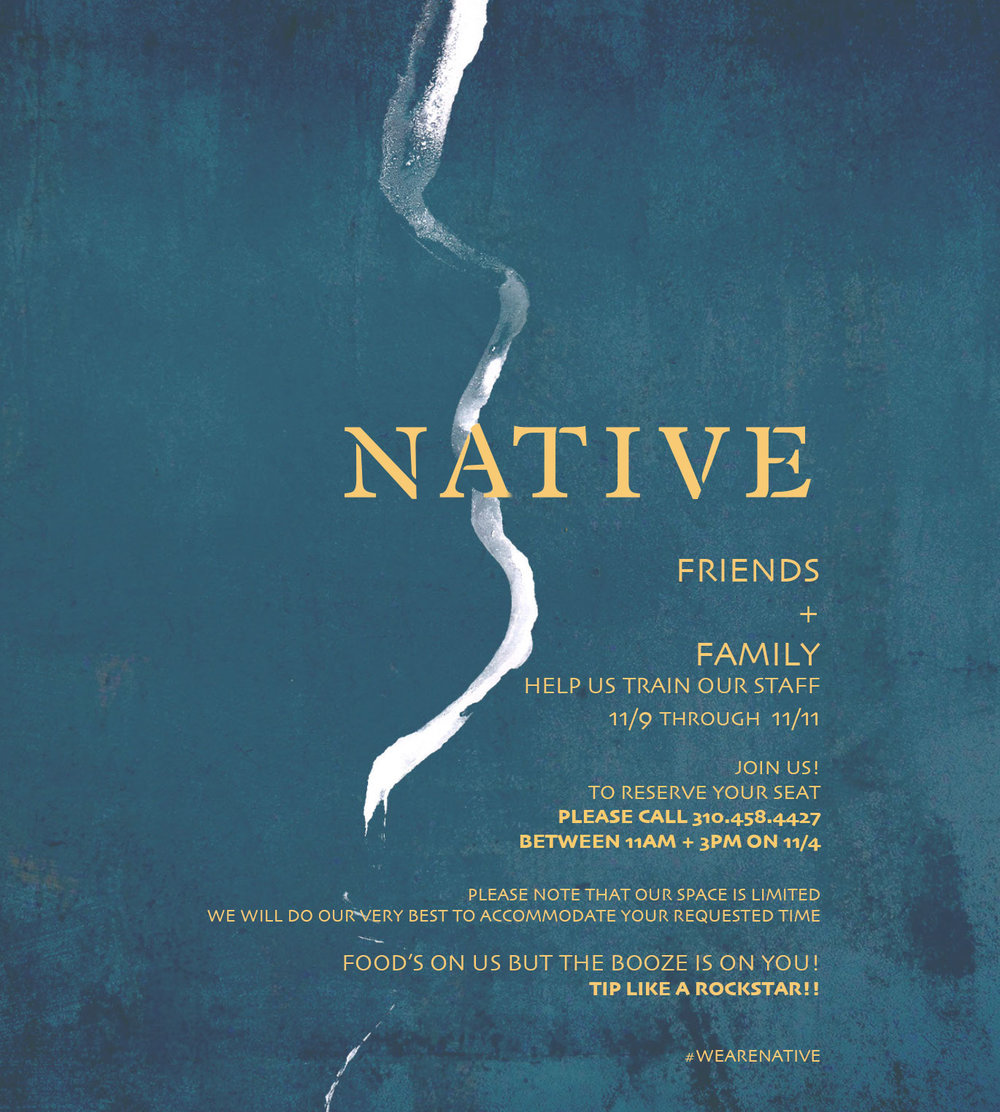 Native Santa Monica Friends and Family