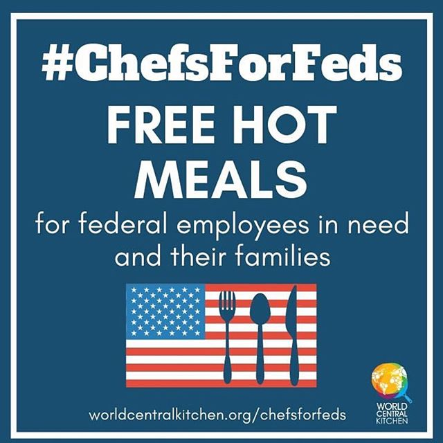 Although though government shutdown is ending. The aftermath will still take time to rebuild, our economic growth is stunted by .17 percent as a country. Everyone doing a little helps a lot. Proud to be a part of #chefsforfeds Come in for free Potato Tacos Tuesday/Wednesday 5-7pm w valid government ID. #governmentshutdown #forthepeople ✊🏾