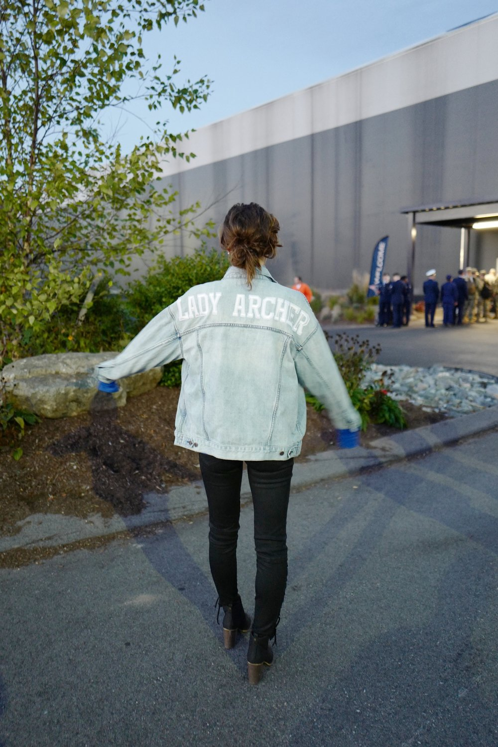 DIY Gameday Jacket- Style- A Briutiful Life