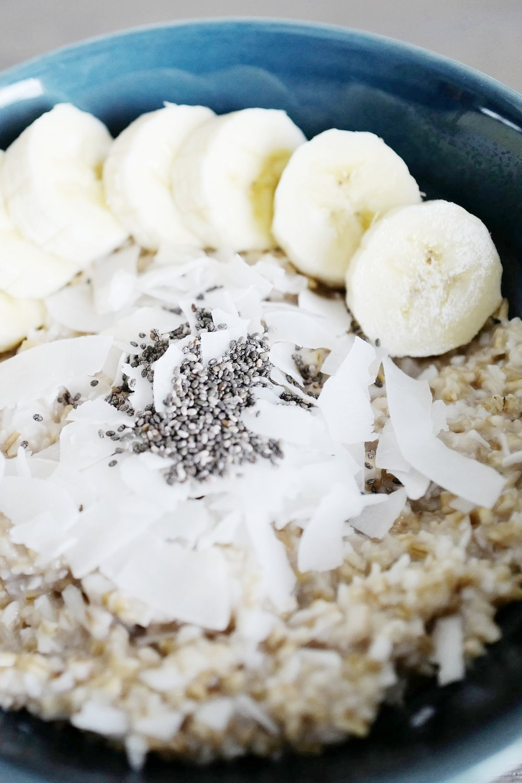 overnight oats -