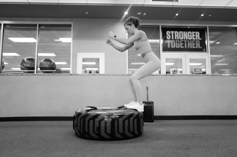30 AMRAP Workout- Fitness- A Briutiful Life