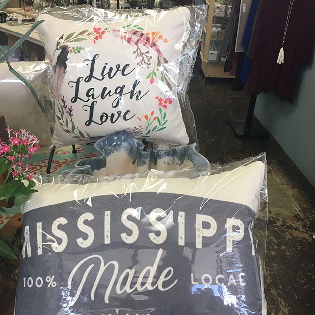 Come check out our new pillows!!