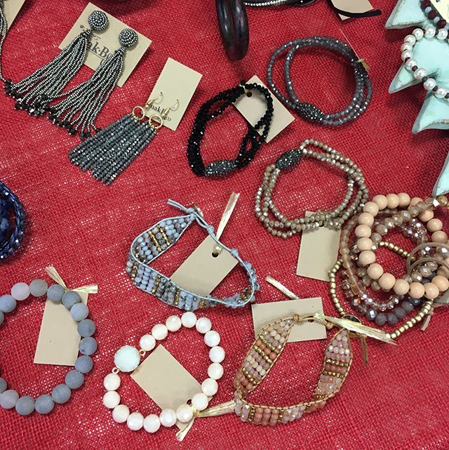 Lots of jewelry coming in daily!