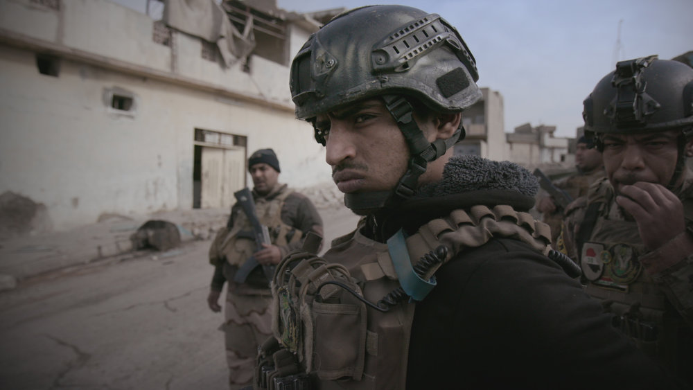 Mosul - With astonishing cinematography by Olivier Sarbil, the story of the fight to re-take Mosul after more than two years of ISIS rule. Theatrical premiere August 2017, broadcast FRONTLINE PBS October 2017Read More