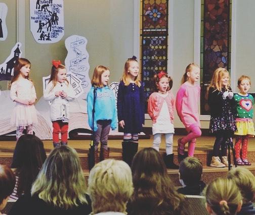 Little voices big hearts ❤️#methodistchurcheg