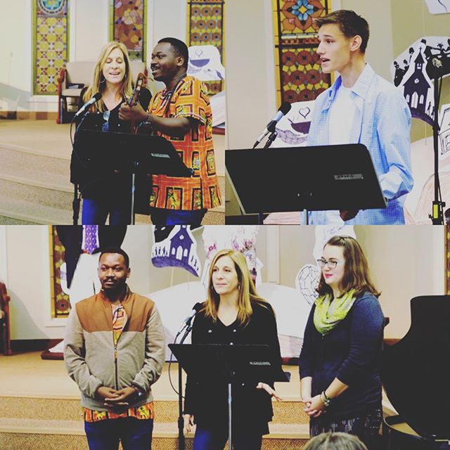 We love sharing our talents and stories! #methodistchurcheg #community