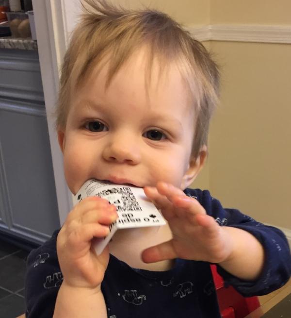 Felix Eating Linguacious.JPG