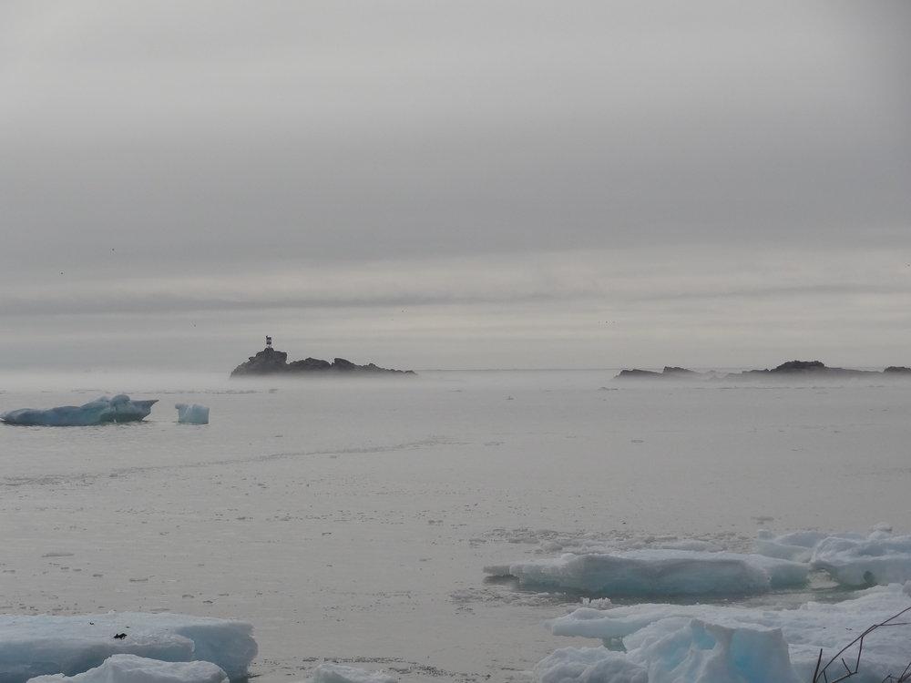 An early morning ocean view at Newfoundland's Bonavista Peninsula - with mist (not fog!). Credit: Samantha Andrews/Ocean Oculus.