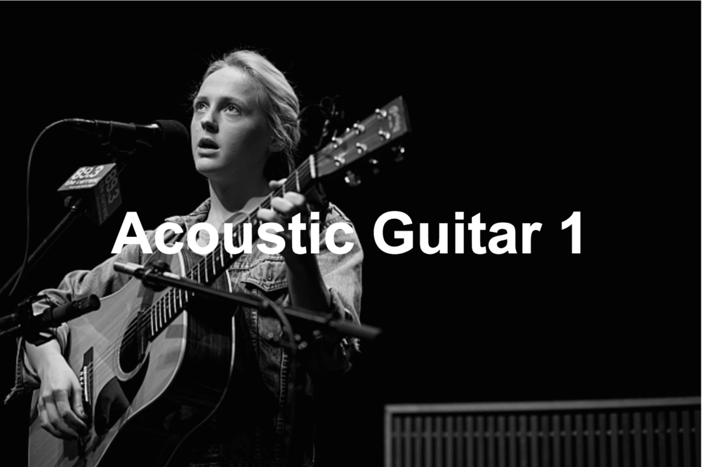 Acoustic Guitar Course 1    10 lessons – £300  This course is designed for beginners who want to learn in a fun way by playing songs from an early stage of their development, whilst still having an understanding of the techniques and knowledge necessary to master the instrument.  The course is always focused on making music, using real examples to illustrate a topic which means that this is a relaxed, informal and fun way to get your playing off the ground!  By the end of the 10 week course you will have learned :  . How to tune the guitar (With tuner and by ear) . Notes of the guitar . Understanding Guitar Tab / Chord boxes . Basic technique (Posture, picking tips, etc) . Basic open chords (Major / Minor / Dominant 7th) . Basic finger picking patterns . Time keeping exercises . 12 Bar Blues (Rhythm Style) . How to use a capo and what it does . Basic riffs  Included are 10 songs selected to help with the techniques learned by artists such as Oasis, Mumford And Sons, Bob Dylan, Laura Marling and Damien Rice. In the lessons the student will perform the songs in a duet with myself, as well as being taught personally tailored practicing techniques to improve the speed of their development when rehearsing at home.