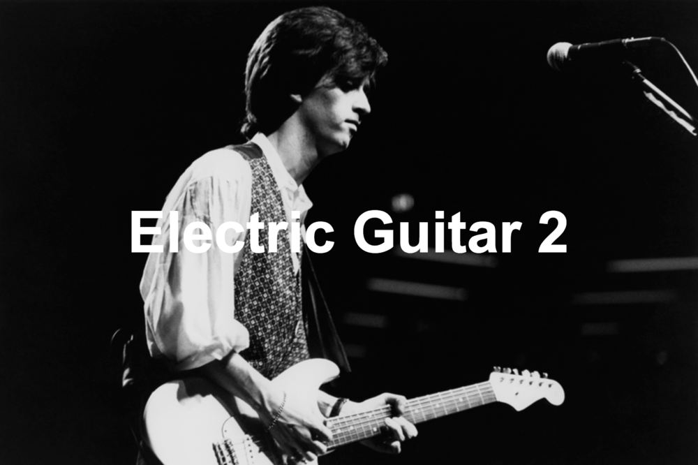 Electric Guitar Course 2    10 lessons – £300  This course is designed for players who have covered Electric Guitar Course 1 as well as those who have already acquired some basic levels of skill and knowledge in their playing.  By the end of the 10 week course you will have learned :  . Expansion of open chords (Minor 7th, Major 7th, Suspended chords) . Bar chords (2 positions) . 12 bar blues (Lead style) – Blues scale and two alternative positions . Maj / Min scales . Advanced lead techniques (Warm ups, Speed Techniques, Finger techniques) . Licks and how to apply them . Advanced strumming patterns . Alternative tunings (Blues, Country, Rock, Metal) and some relevant chord shapes . Understanding transposition and using it effectively.  Included are 10 songs selected to help with the techniques learned by artists such as Chuck Berry, The Smiths, Led Zeppelin, Nirvana and Guns 'n' Roses. In the lessons the student will perform the songs in a duet with myself, as well as as being taught tailored practicing techniques to improve the speed of their development when not in the lesson.