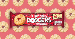 In July 2020 Jammie Dodgers removed milk protein from their recipe to make then Vegan Friendly!!