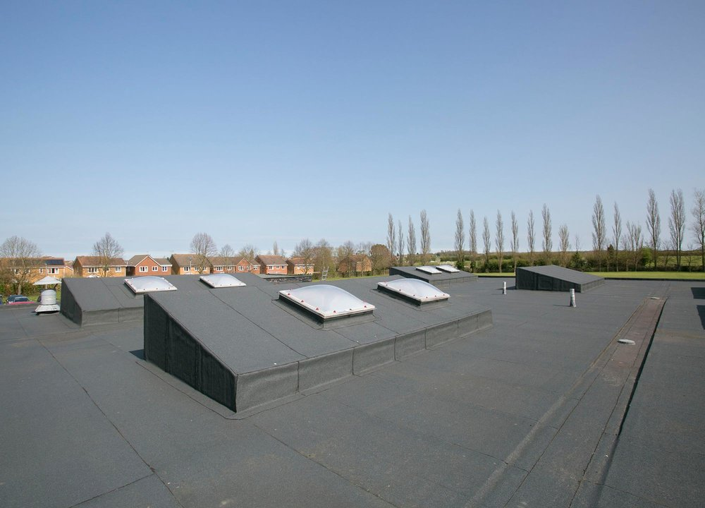 Hadleigh High School Re-roofing, Suffolk View Case Study