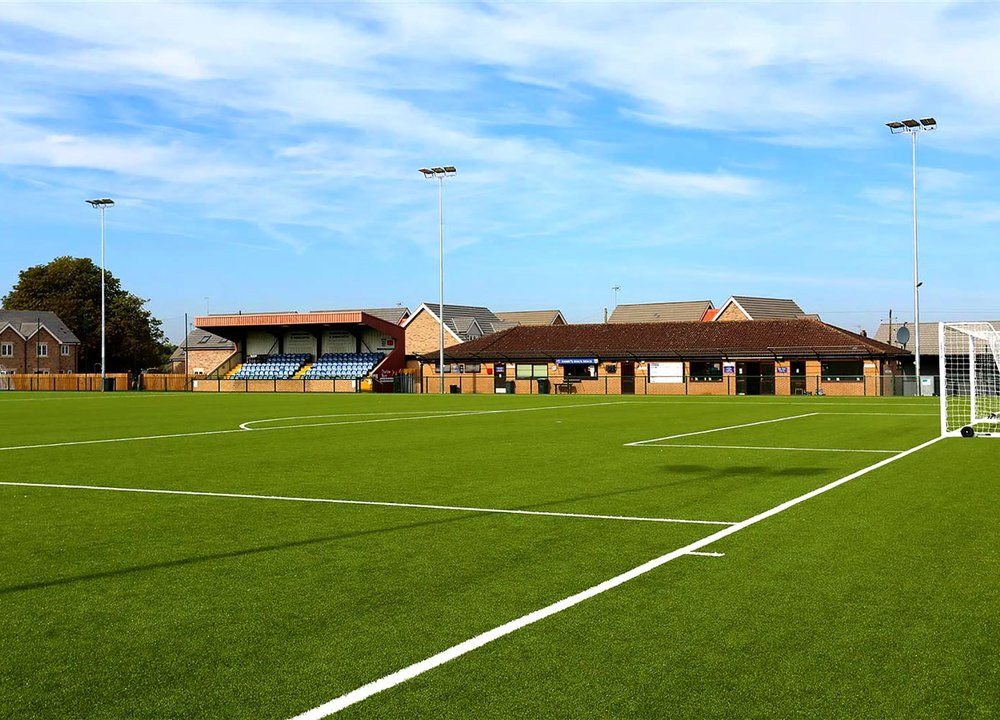 Newmarket Town Football Club 3G FTP, LED Floodlights and Changing Room Remodelling, Suffolk View Case Study