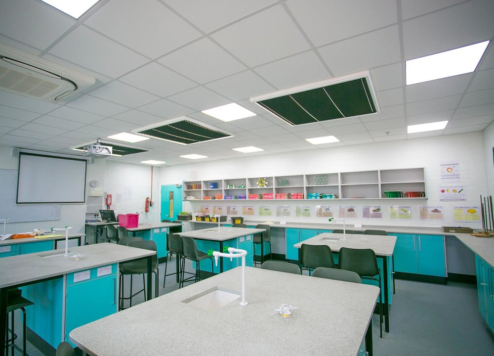 Cedars Upper School   Science Lab Refurbishment, Bedfordshire   View Case Study