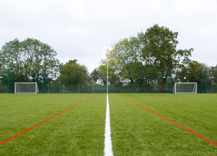 East Bergholt High School Football Turf Pitch and Floodlights, Suffolk View Case Study
