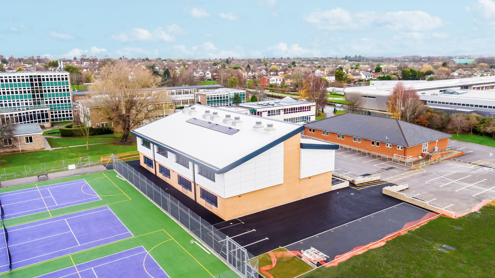 Southend High School for Girls   New Teaching Block, Southend-on-Sea   View Case Study