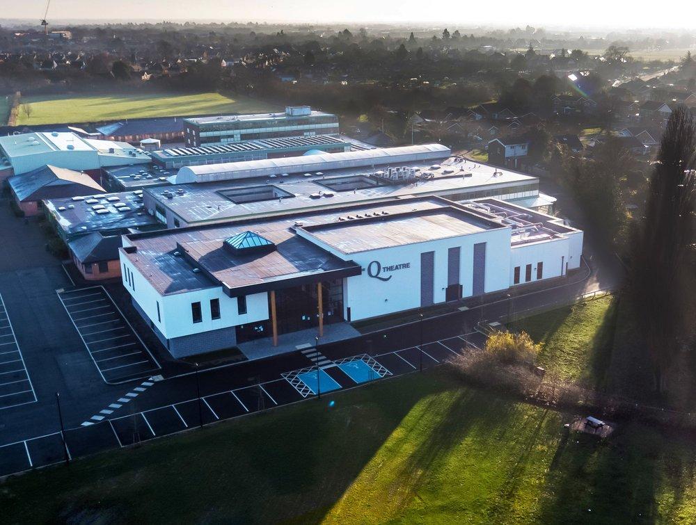 The Philip Morant School & College   The Q Theatre, Colchester   View Case Study