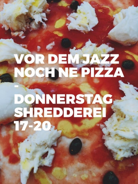 7. September / Jazz in der Shredderei mit Sophia & Olga