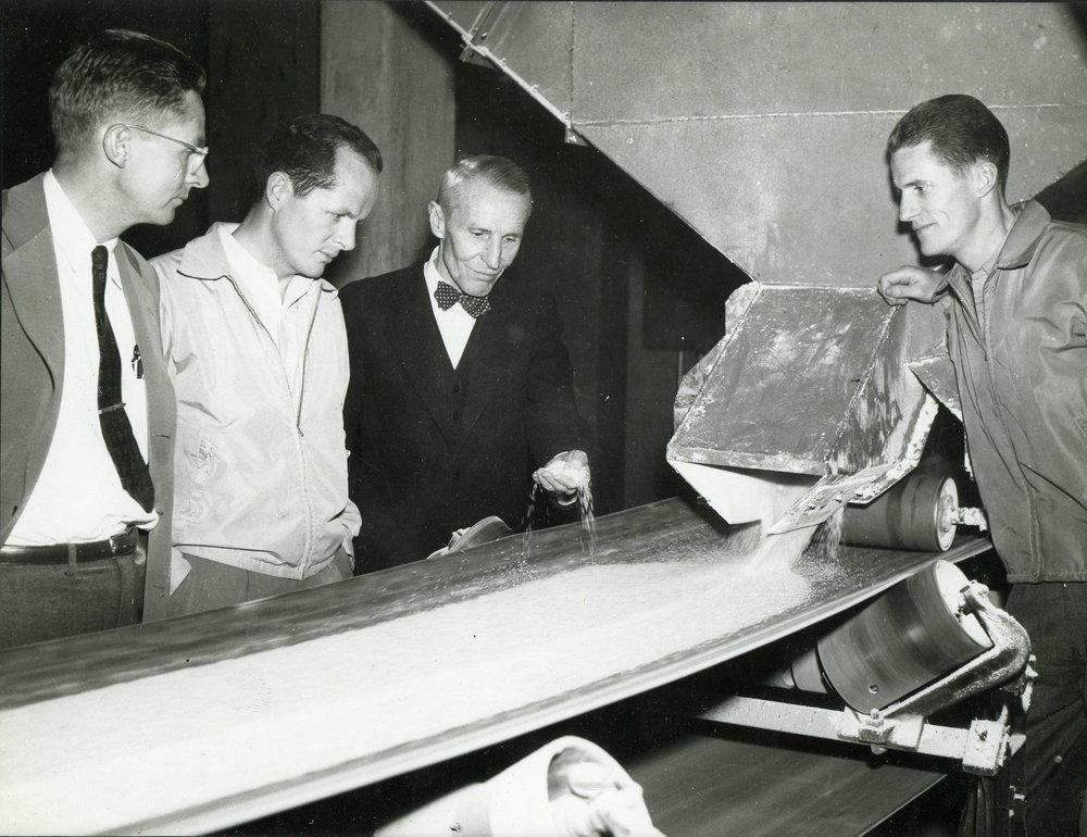 Adolph III, Bill, Adolph Jr, Joe Sr – circa 1950s
